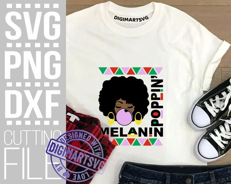 Melanin Poppin Svg Melanin Afro Woman Svg Black Girl Magic Etsy Afro Girl Afro Women Black Girl Magic