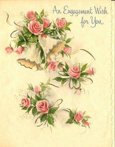 vintage #postcard #printable #ephemera #wedding #love