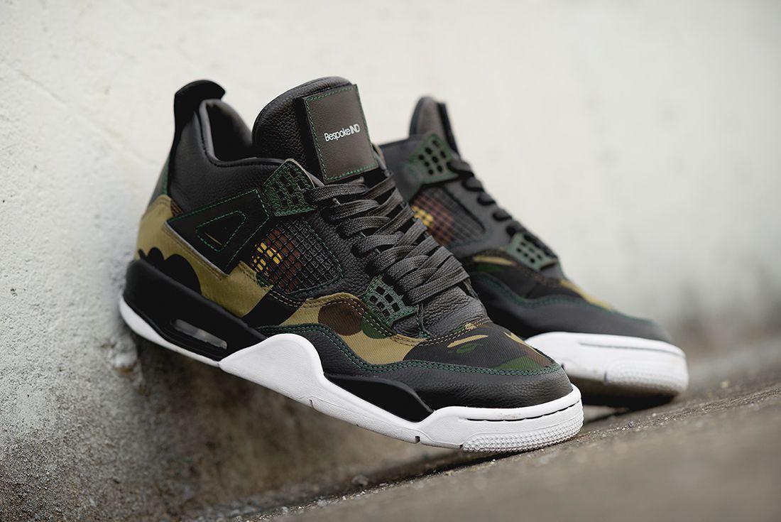 BespokeIND Drop Custom Gore-Tex BAPE x Air Jordan 4 - Sneaker Freaker