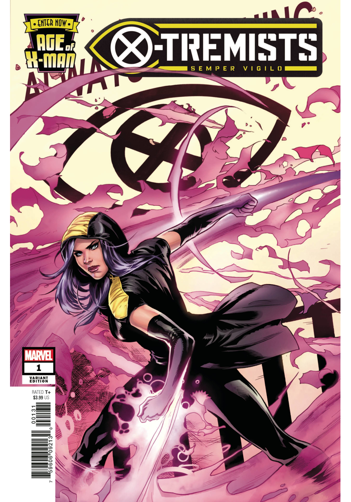 Age Of X Man X Tremists 1 Review Marvel Marvelcomics Comics Xmen Psylocke Marvel Women Comics Psylocke