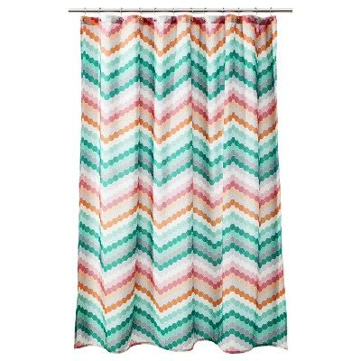 Room Essentials Chevron Shower Curtain Pi Target Mobile