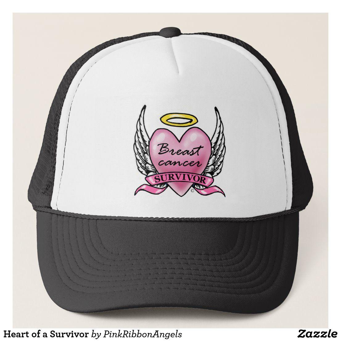 Heart of a survivor trucker hat in 2020