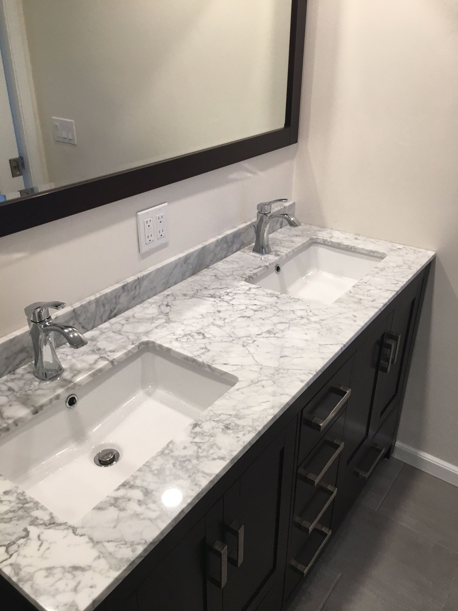 Jk Wood Construction Porcelain Shower Walls And Floor Carrara Marble Bench And Countertop And Accent Countertops Shower Wall Sink Countertop