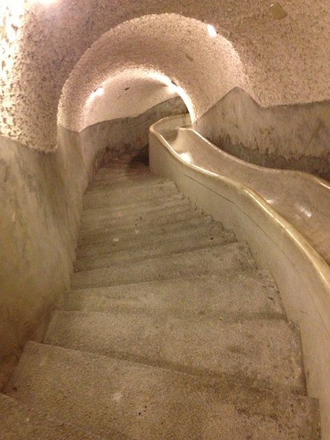 An Escape Slide Underneath The Grand Hotel In Taipei That