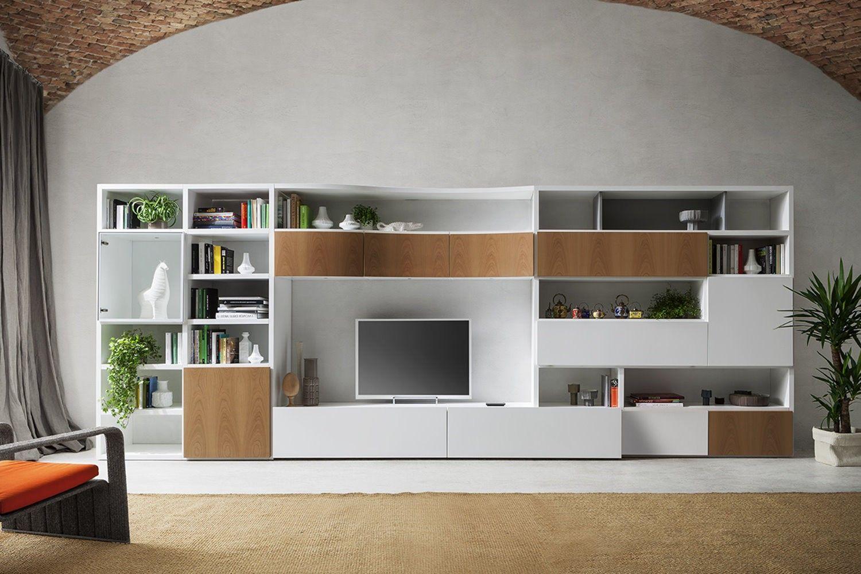 Parete attrezzata, soggiorno, living, livingroom, mobile