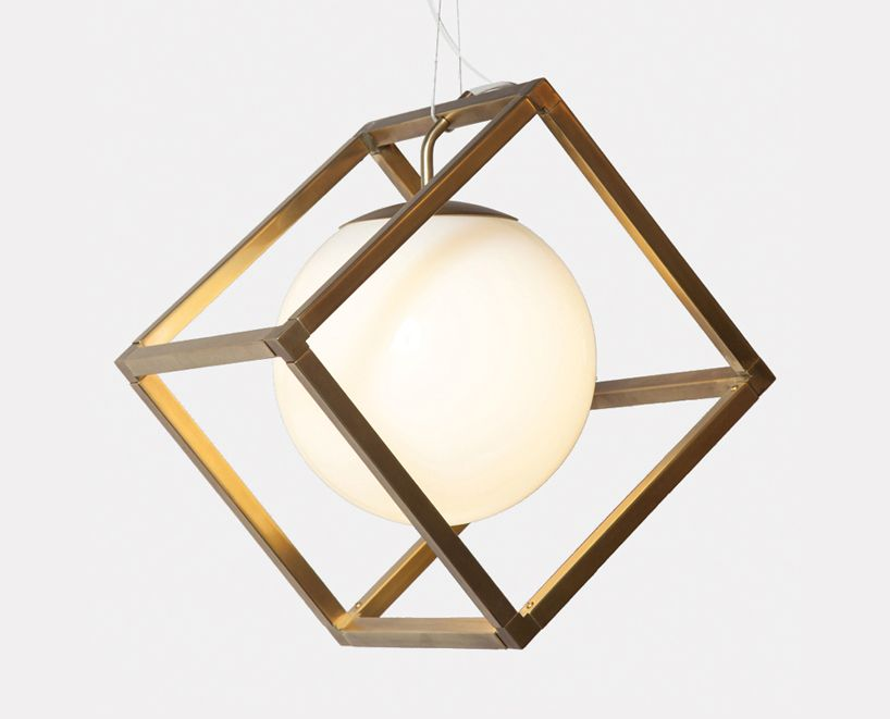 rich brilliant willing lights up ICFF with david rockwell-designed suite + cinema chandelier