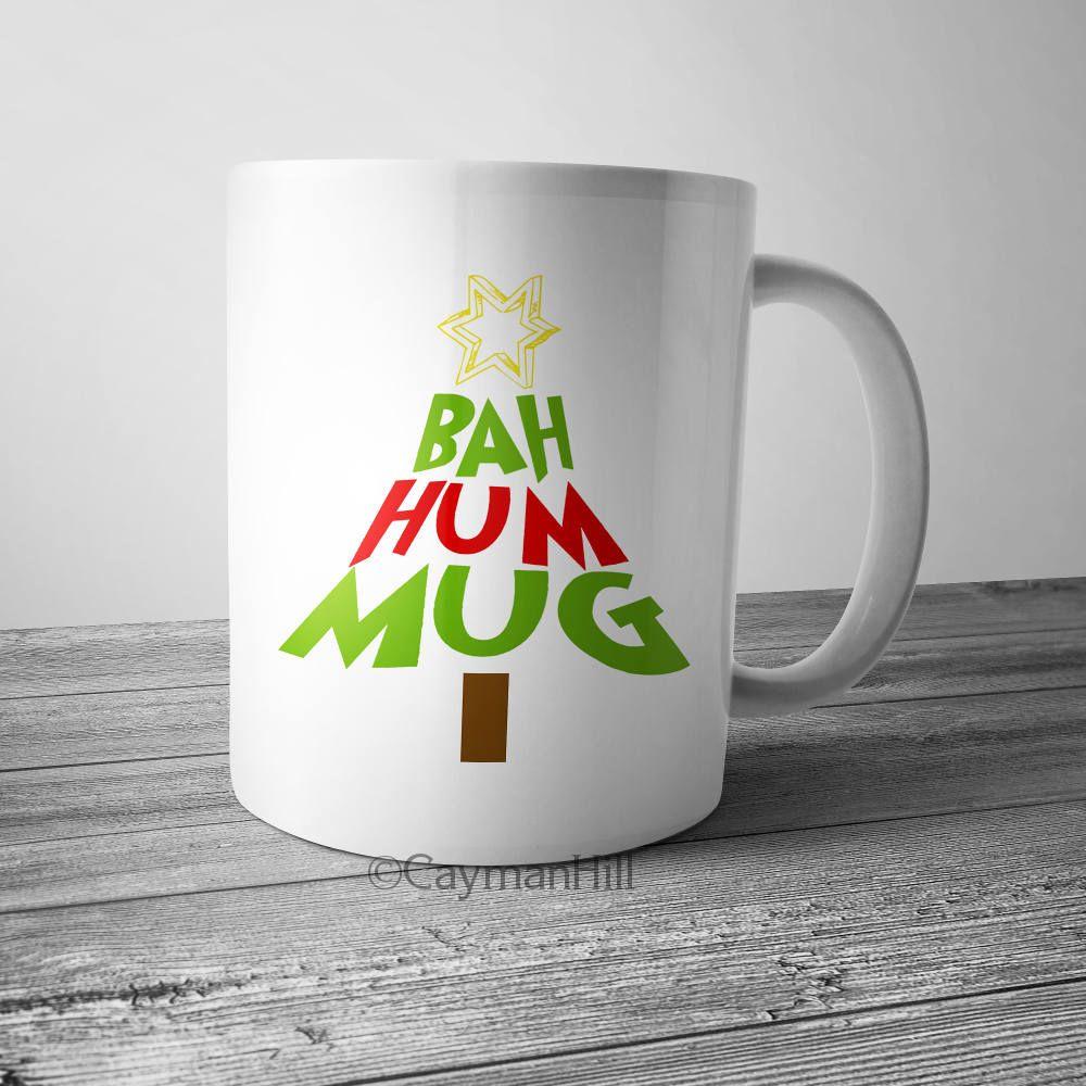 Christmas Hater.Bah Hum Bug Funny Christmas Mug Bah Hum Mug Christmas Gift