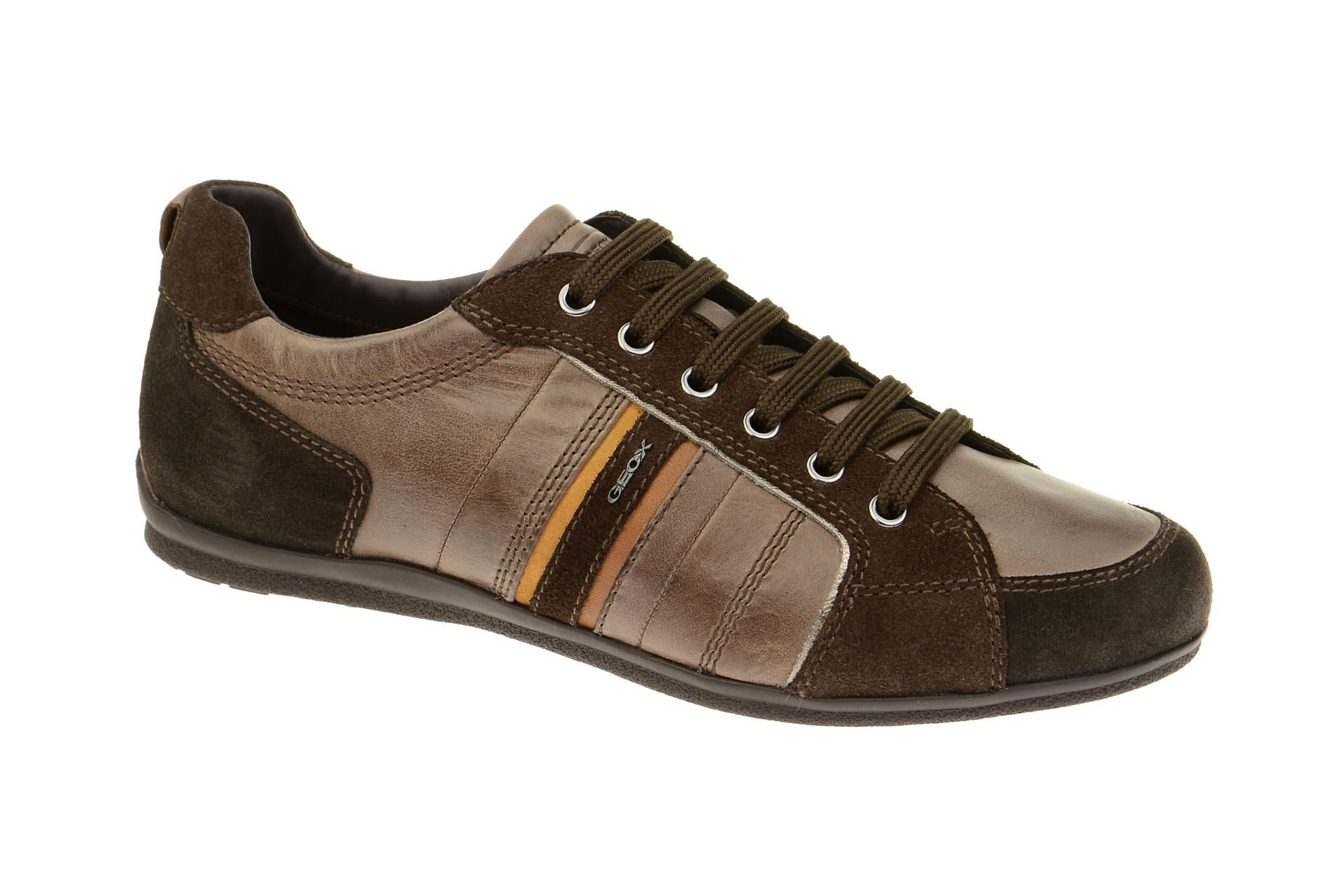 separation shoes fast delivery great look Geox Houston dark-brown chestnut U54P1A 0CL22 C6313 in 2019 ...