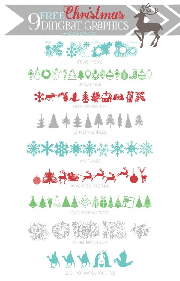 Free Christmas Fonts Dingbat Graphics Lolly Jane Christmas Fonts Free Christmas Fonts Dingbat Fonts