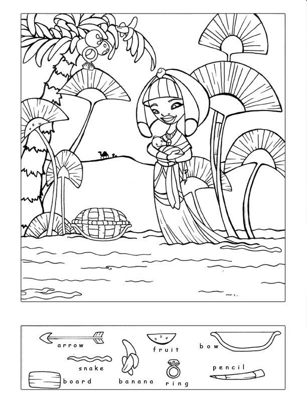 C39586251339b9bda66dfe7e869e96cb moses sunday school for Free bible coloring pages moses