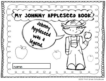 Johnny Appleseed and Fun with Apples by First Grade