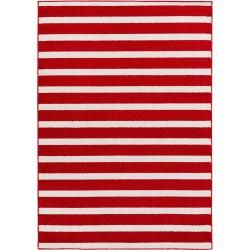 Photo of benuta Kinderteppich Noa Kids Stripes Rot 200×290 cm – Teppich für Kinderzimmer benuta