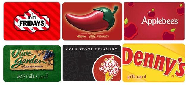 Deals Restaurant Gift Card Bonus Offers Www247momscom 247moms