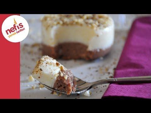 İki Renkli İrmik Tatlısı - Nefis Yemek Tarifleri - YouTube