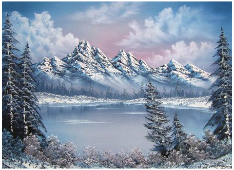 Bob Ross Paintings Landscapes Winter Bobrosspaintingslandscapeswinter Bob Ross Bob Ross Paintings Landscape Paintings Bob Ross Art