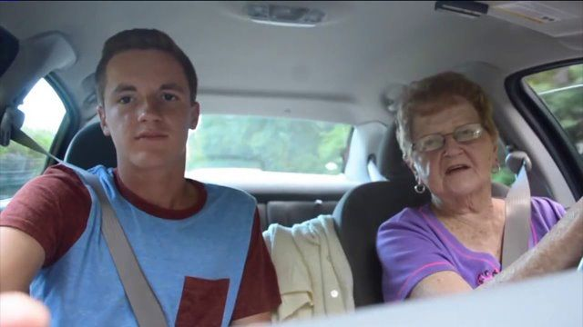 Newtown's Kevin Droniak Has The Coolest Grandma, And They're Both Turning Into Internet Celebrities