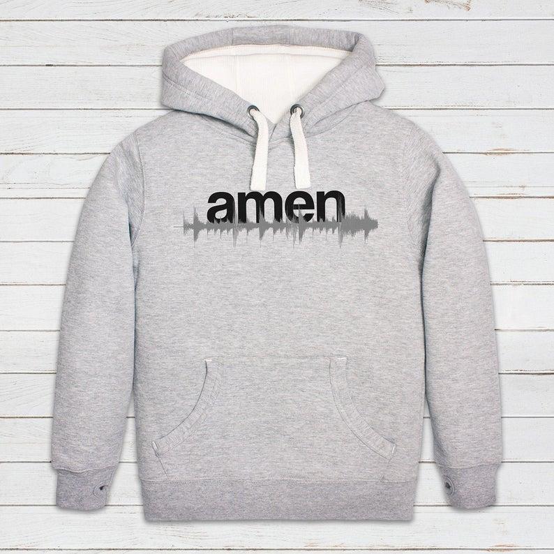 Amen T Shirt Break WAV 808 Drum and Bass DJ Synth Music DnB EDM Jungle Mens Tee