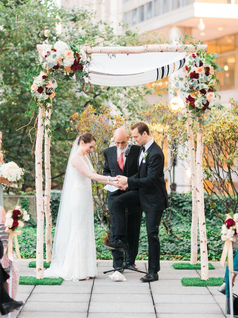 29 of the Prettiest Wedding Chuppahs We've Ever Seen