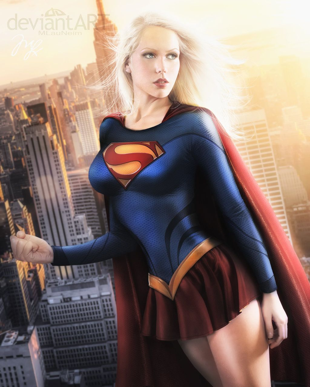 Supergirl II by MLauviah on DeviantArt