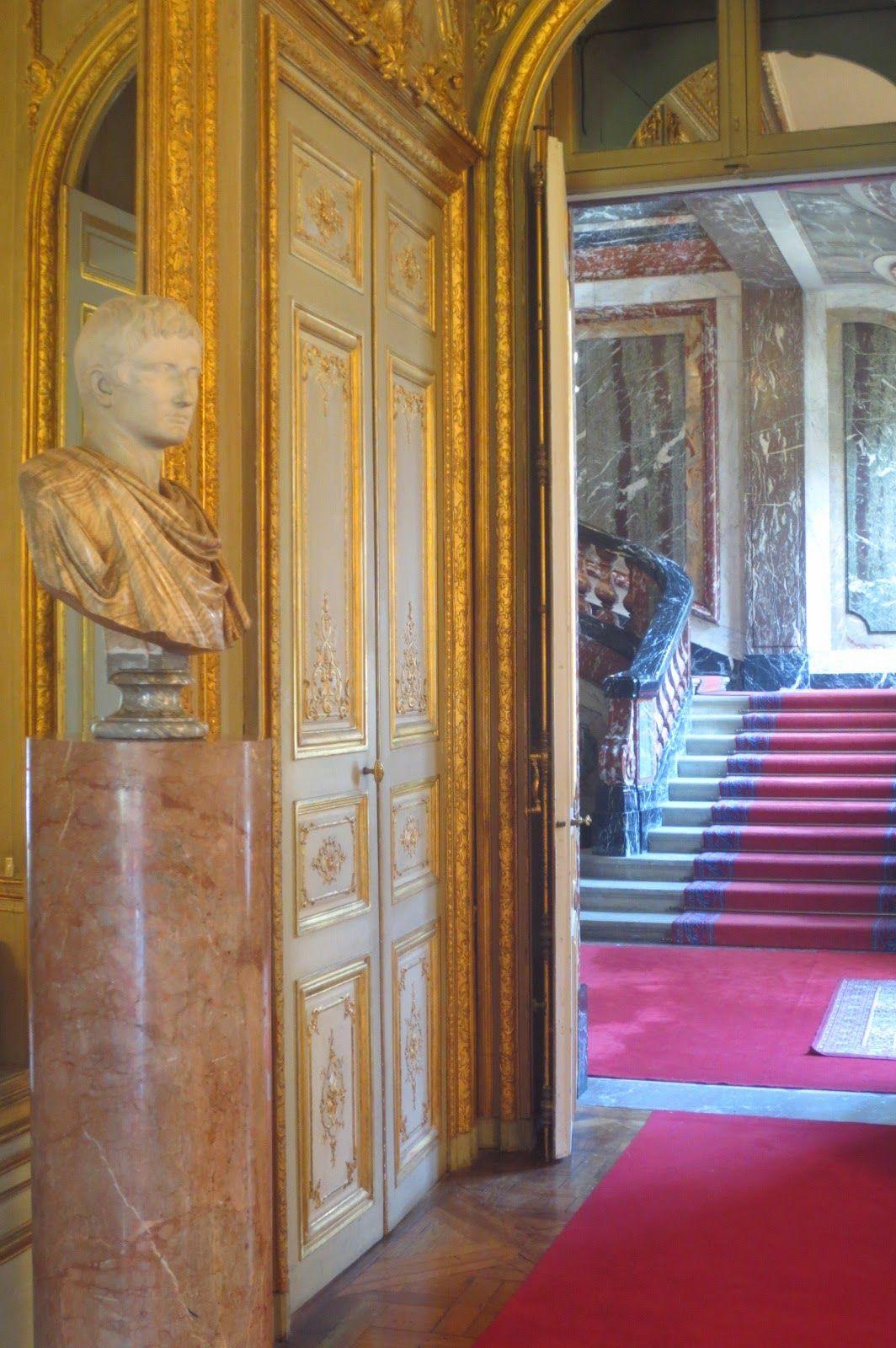 Sala del Mappamondo nel Hôtel de La Rochefoucauld-Doudeauville, Ambasciata d'Italia a Parigi