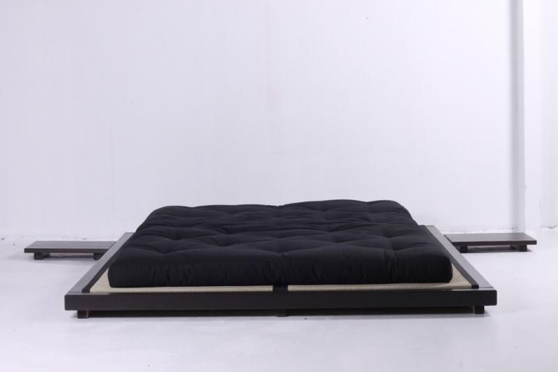 Dock Low Level Bed Fsc Pine Timber With Toxin Free Wenge Stain 215