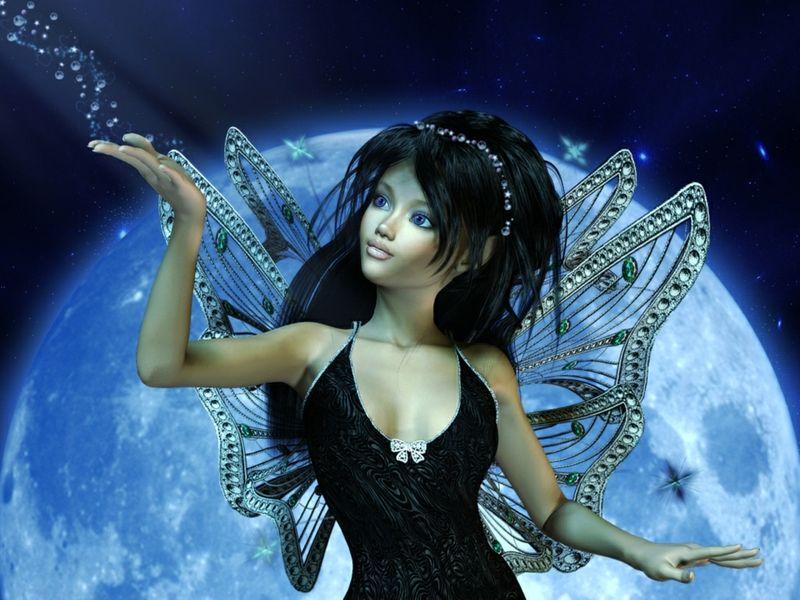 Fantasy Fairy Desktop Wallpaper