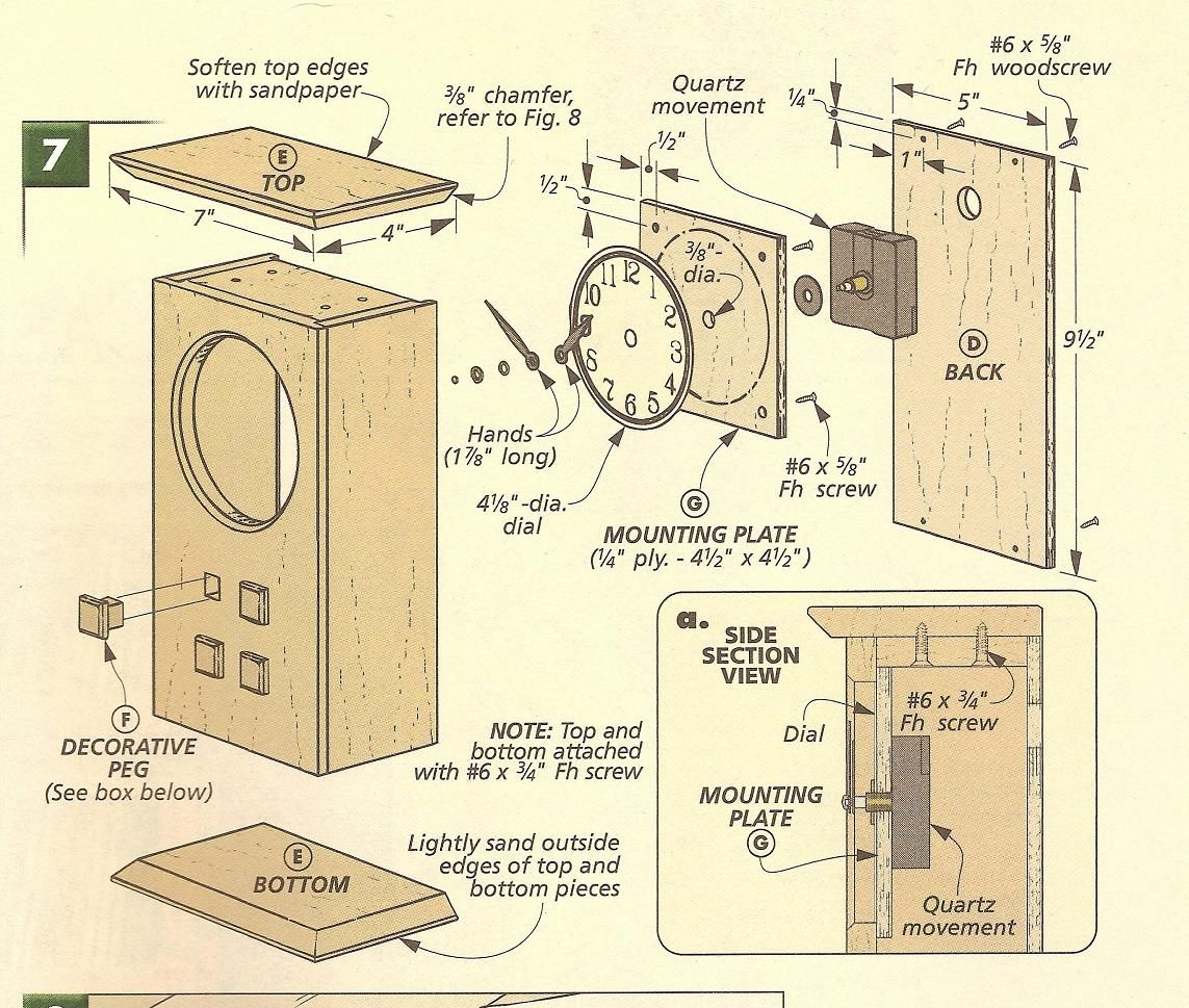 small resolution of arts and crafts clocks arts and crafts mantle clock exploded diagram with asthenosphere mantle mantle clock diagram