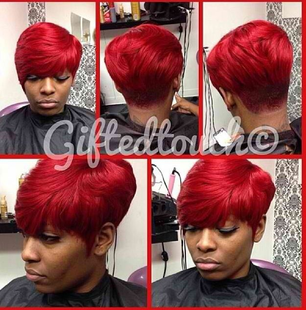 I want red hair!!! | Quick weave hairstyles