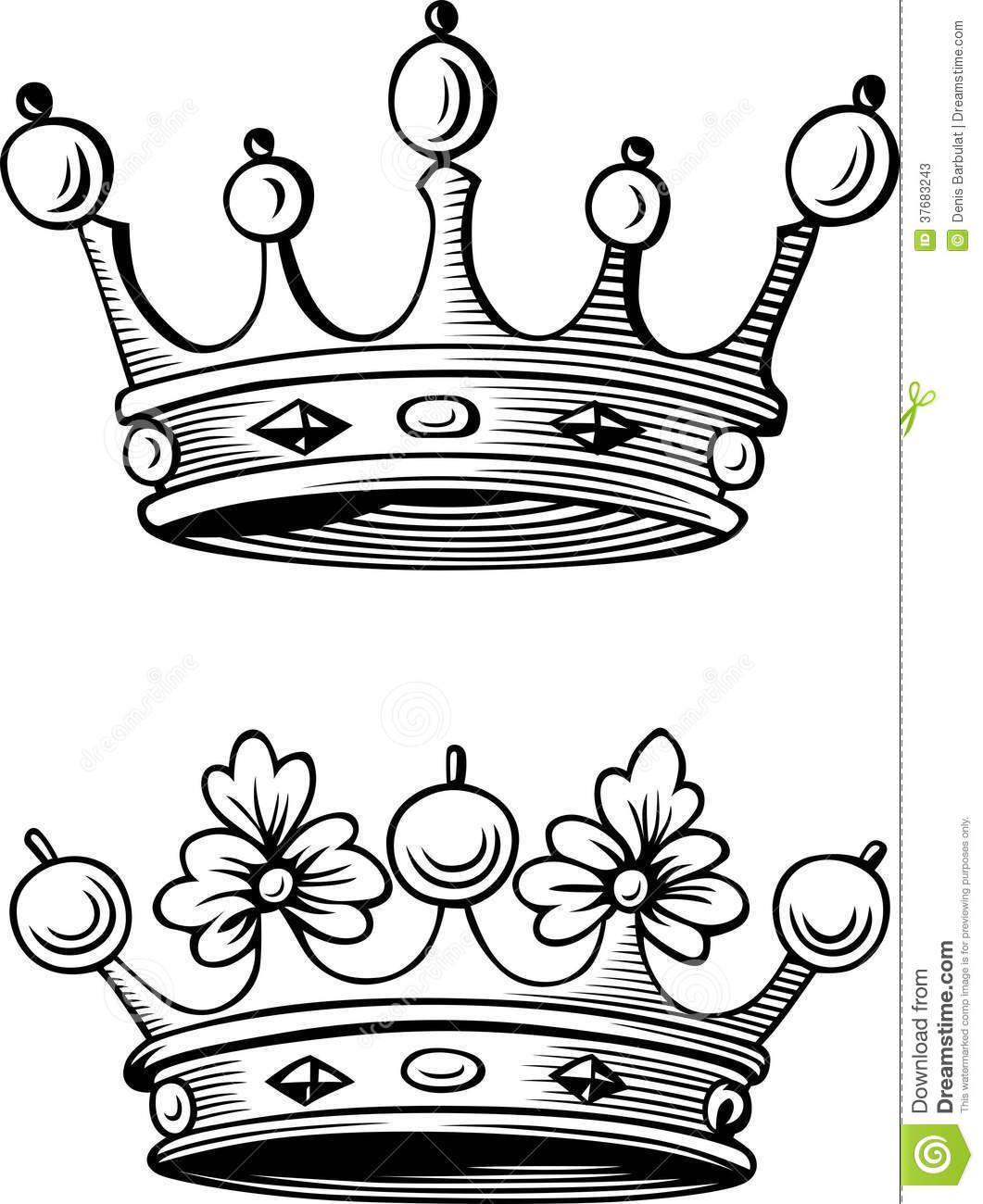 Resultado De Imagen Para Coronas Rey Y Reina Couronnes Pinterest