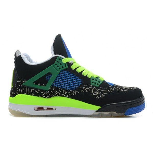 Free Shipping 6070 OFF Air JD 4 Retro Doernbecher Superman BlackOld RoyalElectric GreenWhite For Sale
