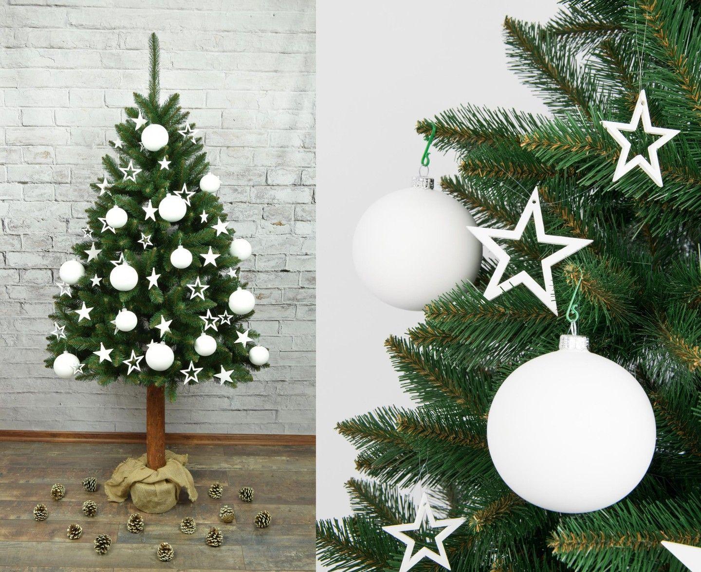 Choinka Sztuczna Na Pniu Swierk Syberyjski 180 Cm 7225370246 Oficjalne Archiwum Allegro Christmas Bulbs Christmas Ornaments Holiday Decor