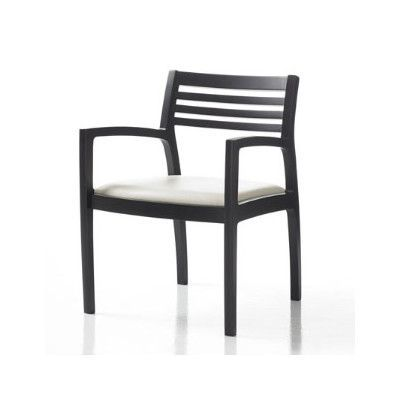 Wonderful Studio Q Furniture Riva Guest Chair In Grade 3 Vinyl With Sytex Seat  Support System Finish