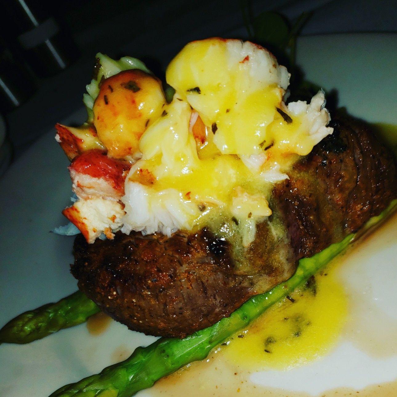 buffalo steak and lobster oscar ...