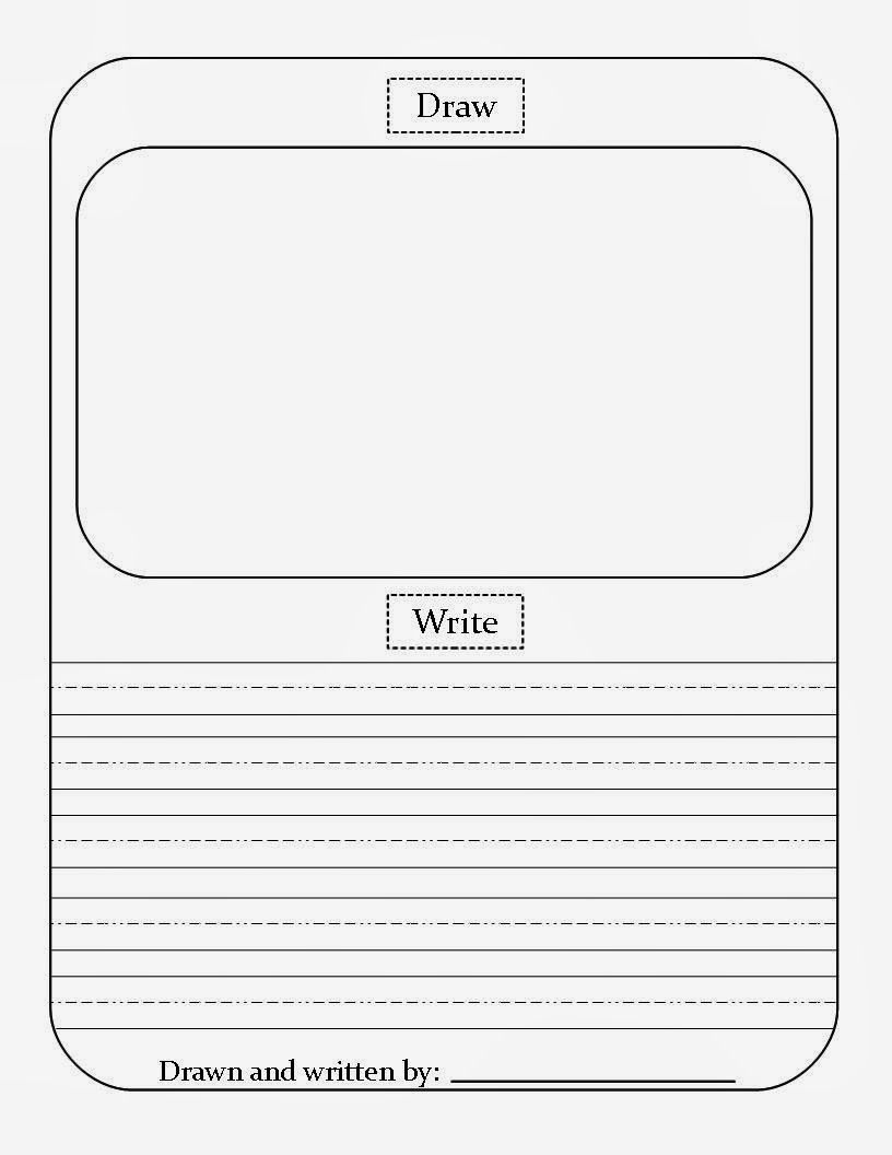 Draw Write Paper Free Download Writing Paper Template Free Writing Paper Kindergarten Writing Paper Read write draw printables