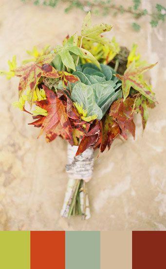 I love this Autumn color pallete