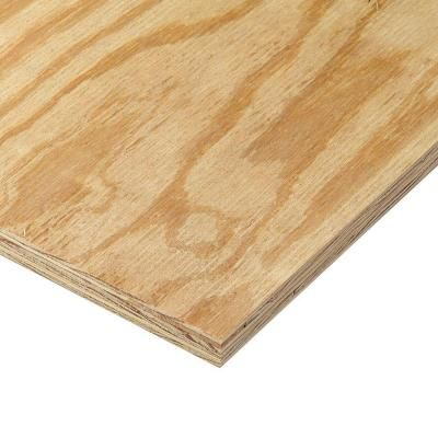 23 32 In X 4 Ft X 8 Ft Rtd Sheathing Syp 157946 Pine Plywood Blind Corner Cabinet Types Of Wood