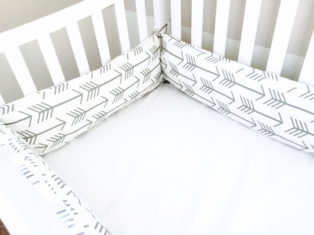 Crib protector for babies - Baby Boy Nursery Part 3 How To Make Crib Bumpers
