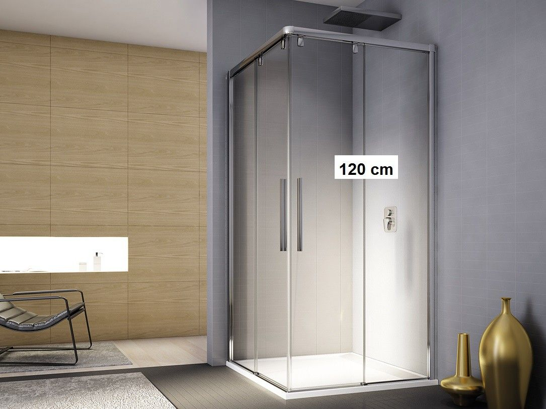 eckeinstieg 120x100 x 200 cm schiebet r duschkabine eckeinstieg pinterest duschkabine. Black Bedroom Furniture Sets. Home Design Ideas