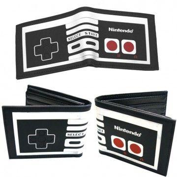 Cartera billetera Nintendo NES Controller - Tienda de regalos originales QueLoVendan.com