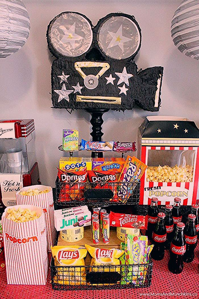 Photo of Movie Night Party Ideas – Moms & Munchkins