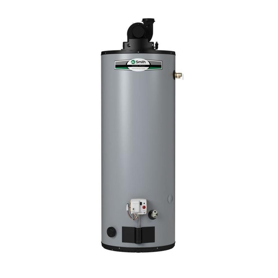 A O Smith Signature Premier 40 Gallon Tall 6 Year Limited Liquid Propane Water Heater Natural Gas Water Heater Will Smith Water Heating