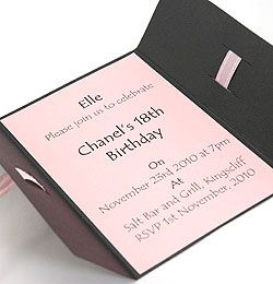 how to make homemade birthday invitations diy birthday invitations