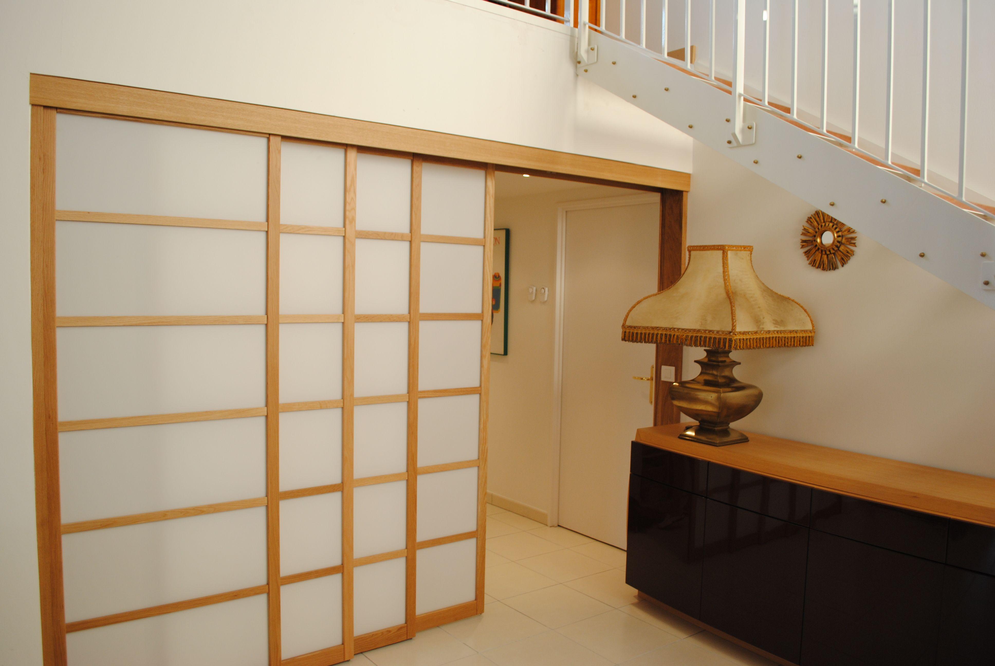 Panneaux Japonais | Dressing Concept | Maison chambre RdC | Pinterest