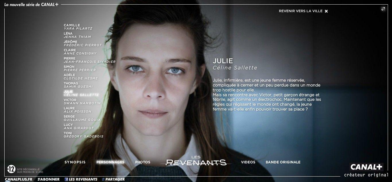 Les Revenants Julie