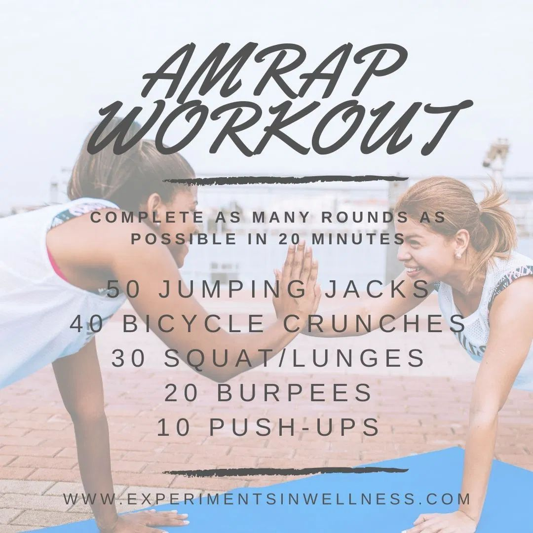 Crossfit Workouts At Home | Experiments In Wellness