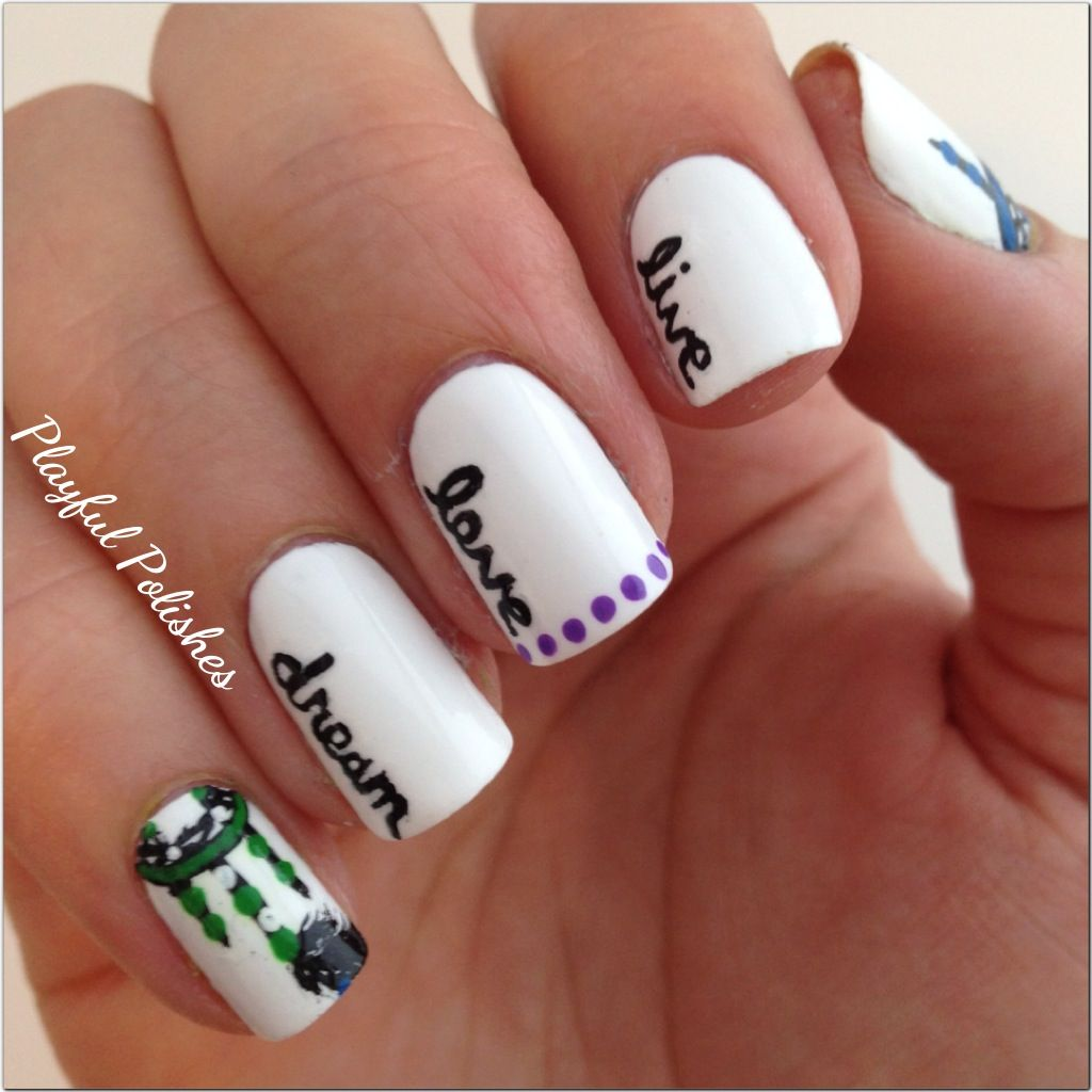 Nail Design With Words Google Search