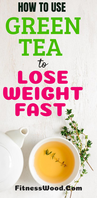 Grüner Tee in Gewichtsverlust Pillen schnell