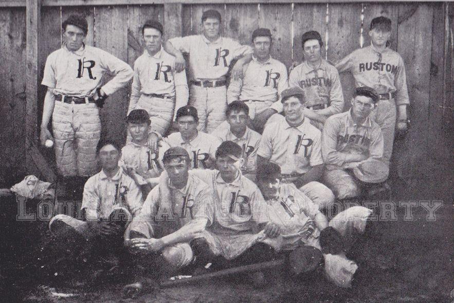 1905 Louisiana Tech University baseball team. Known then