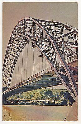 Volta Bridge, Adomi GHANA Vintage Africa Postcard