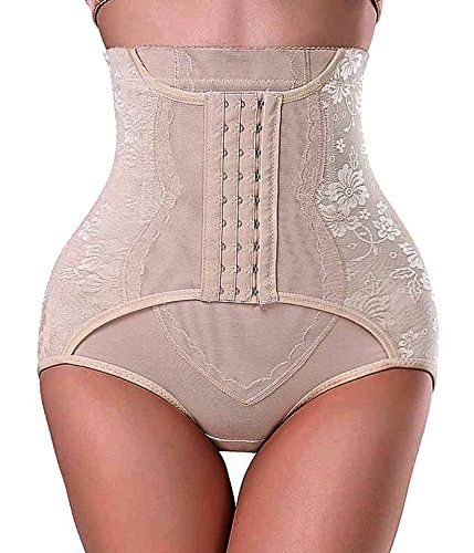 bbfdb751ed87 Invisable Strapless Body Shaper High Waist Tummy Control Butt lifter Panty  SlimL Beigecomfy * For more information, visit image link.